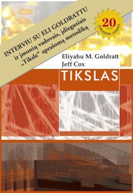 Eliyahu M. Goldratt Jeff Cox - Tikslas I